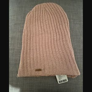 Free People Pink/Rose Slouchy Beanie